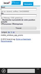 HTC Windows Phone 8X - Internet et roaming de données - Navigation sur Internet - Étape 11