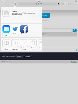 Apple iPad mini iOS 7 - Internet et roaming de données - Navigation sur Internet - Étape 15
