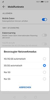 Huawei Mate 10 Pro - Android Pie - Netzwerk - So aktivieren Sie eine 4G-Verbindung - Schritt 6