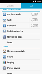 Huawei Ascend G6 - MMS - Manual configuration - Step 4