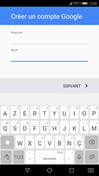 Huawei P9 - Android Nougat - Applications - Créer un compte - Étape 5