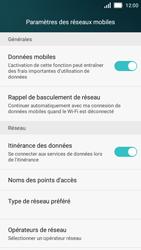 Huawei Y5 - Internet et roaming de données - Désactivation du roaming de données - Étape 5