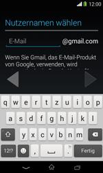 Sony Xperia E1 - Apps - Konto anlegen und einrichten - 8 / 23