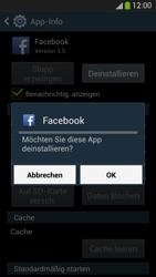 Samsung Galaxy S 4 Active - Apps - Eine App deinstallieren - Schritt 8