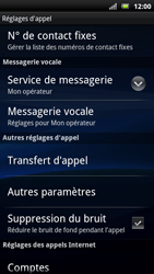 Sony Xperia Neo - Messagerie vocale - Configuration manuelle - Étape 5