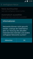 Samsung Galaxy S 5 - Netzwerk - Manuelle Netzwerkwahl - Schritt 7