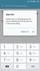 Samsung Galaxy S7 - Datenschutz und Sicherheit - PIN-Code der SIM-Karte ändern - 1 / 1