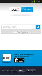 Samsung Galaxy S III - Internet et roaming de données - Navigation sur Internet - Étape 12