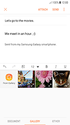 Samsung A320F Galaxy A3 (2017) - Android Oreo - E-mail - Sending emails - Step 13