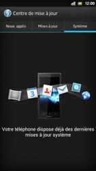 Sony Xperia S - Logiciels - Installation de mises à jour - Étape 8