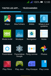Alcatel Pixi 3 Dual Sim - Internet et connexion - Partager votre connexion en Wi-Fi - Étape 3