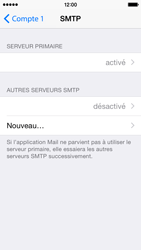 Apple iPhone 5c iOS 8 - E-mail - configuration manuelle - Étape 24