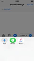 Apple iPhone SE - iOS 10 - iOS features - Envoyer un iMessage - Étape 17