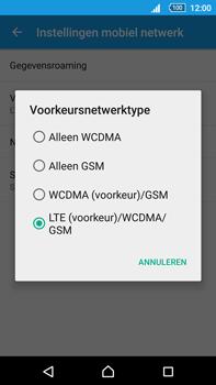 Sony Xperia Z5 Premium (E6853) - Netwerk - Wijzig netwerkmodus - Stap 7