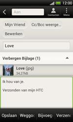 HTC T320e One V - E-mail - E-mails verzenden - Stap 14