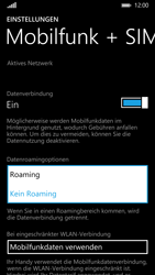 Nokia Lumia 930 - Ausland - Im Ausland surfen – Datenroaming - 8 / 11