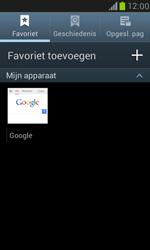 Samsung I8190 Galaxy S III Mini - Internet - Internetten - Stap 7