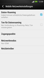 HTC One - Netzwerk - Netzwerkeinstellungen ändern - Schritt 7