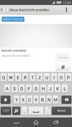 Sony Xperia Z2 - MMS - Erstellen und senden - Schritt 14
