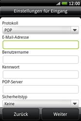HTC A510e Wildfire S - E-Mail - Konto einrichten - Schritt 7