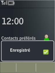 Nokia X3-02 - MMS - configuration automatique - Étape 7