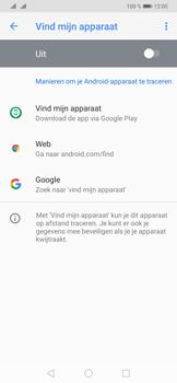 Huawei P30 Pro - Toestel - stel Zoek mijn mobiel in - Stap 5