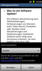 Samsung Galaxy S Advance - Software - Installieren von Software-Updates - Schritt 8