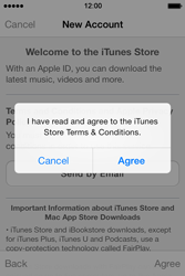 Apple iPhone 4S iOS 7 - Applications - setting up the application store - Step 11