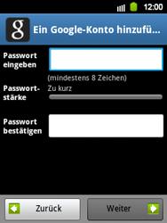 Samsung Galaxy Y - Apps - Konto anlegen und einrichten - 9 / 21