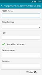 Samsung G800F Galaxy S5 Mini - E-Mail - Konto einrichten - Schritt 12