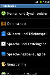 Samsung S5830 Galaxy Ace - Fehlerbehebung - Handy zurücksetzen - Schritt 6