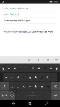 Microsoft Lumia 950 XL - E-mail - E-mail versturen - Stap 8