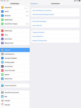 Apple iPad Pro 12.9 inch - iOS 12 - Fehlerbehebung - Handy zurücksetzen - Schritt 7