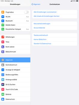 Apple ipad-10-2-7th-gen - Gerät - Zurücksetzen auf die Werkseinstellungen - Schritt 5