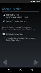 HTC Desire 620 - Apps - Konto anlegen und einrichten - 1 / 1