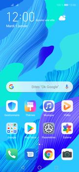 Huawei Nova 5T - Internet et connexion - Désactiver la connexion Internet - Étape 1