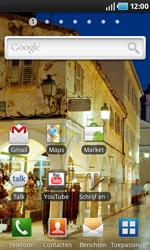 Samsung I9000 Galaxy S - E-mail - Handmatig instellen - Stap 1