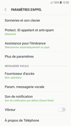 Samsung A520F Galaxy A5 (2017) - Android Nougat - Messagerie vocale - Configuration manuelle - Étape 6