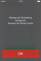 Apple iPhone 4 S mit iOS 7 - SMS - Manuelle Konfiguration - Schritt 4