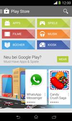 Sony Xperia E1 - Apps - Konto anlegen und einrichten - 22 / 23