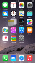 Apple iPhone 6 iOS 8 - Getting started - Personalising your Start screen - Step 4