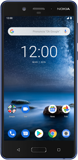 Nokia 8 - Android Pie - Dispositivo - Come eseguire un soft reset - Fase 2