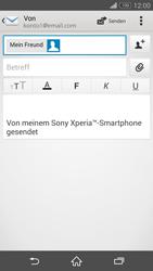 Sony D5803 Xperia Z3 Compact - E-Mail - E-Mail versenden - Schritt 8
