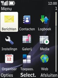 Nokia 3720 classic - e-mail - handmatig instellen - stap 3