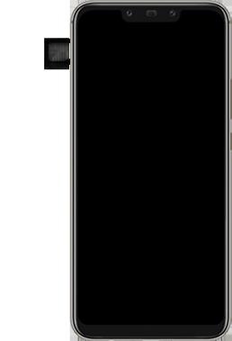 Huawei Mate 20 Lite - SIM-Karte - Einlegen - Schritt 3