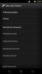 Sony Xperia T - Software - Installieren von Software-Updates - Schritt 6