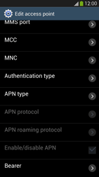 Samsung Galaxy S 4 Active - Internet and data roaming - Manual configuration - Step 12