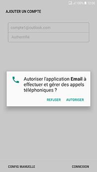 Samsung Galaxy J7 (2017) - E-mail - Configuration manuelle (outlook) - Étape 9