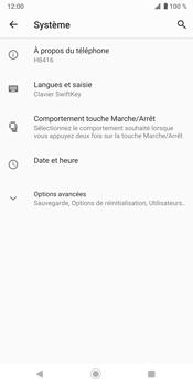Sony Xperia XZ3 - Données - créer une sauvegarde avec votre compte - Étape 5