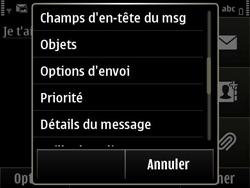 Nokia E6-00 - MMS - envoi d'images - Étape 11